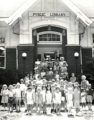 History of Pendleton Library