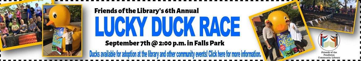 August Lucky Duck Race 2019